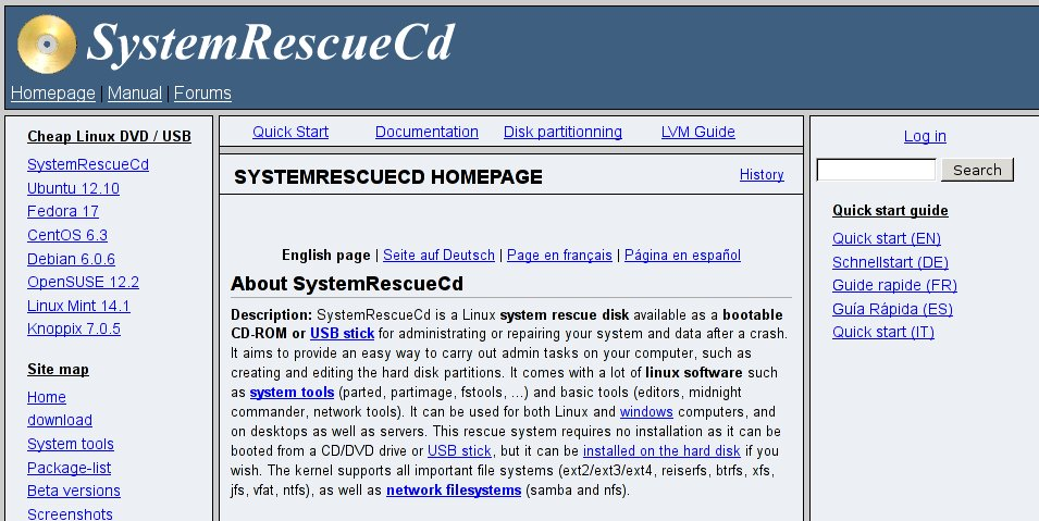 http://www.sysresccd.org/SystemRescueCd_Homepage