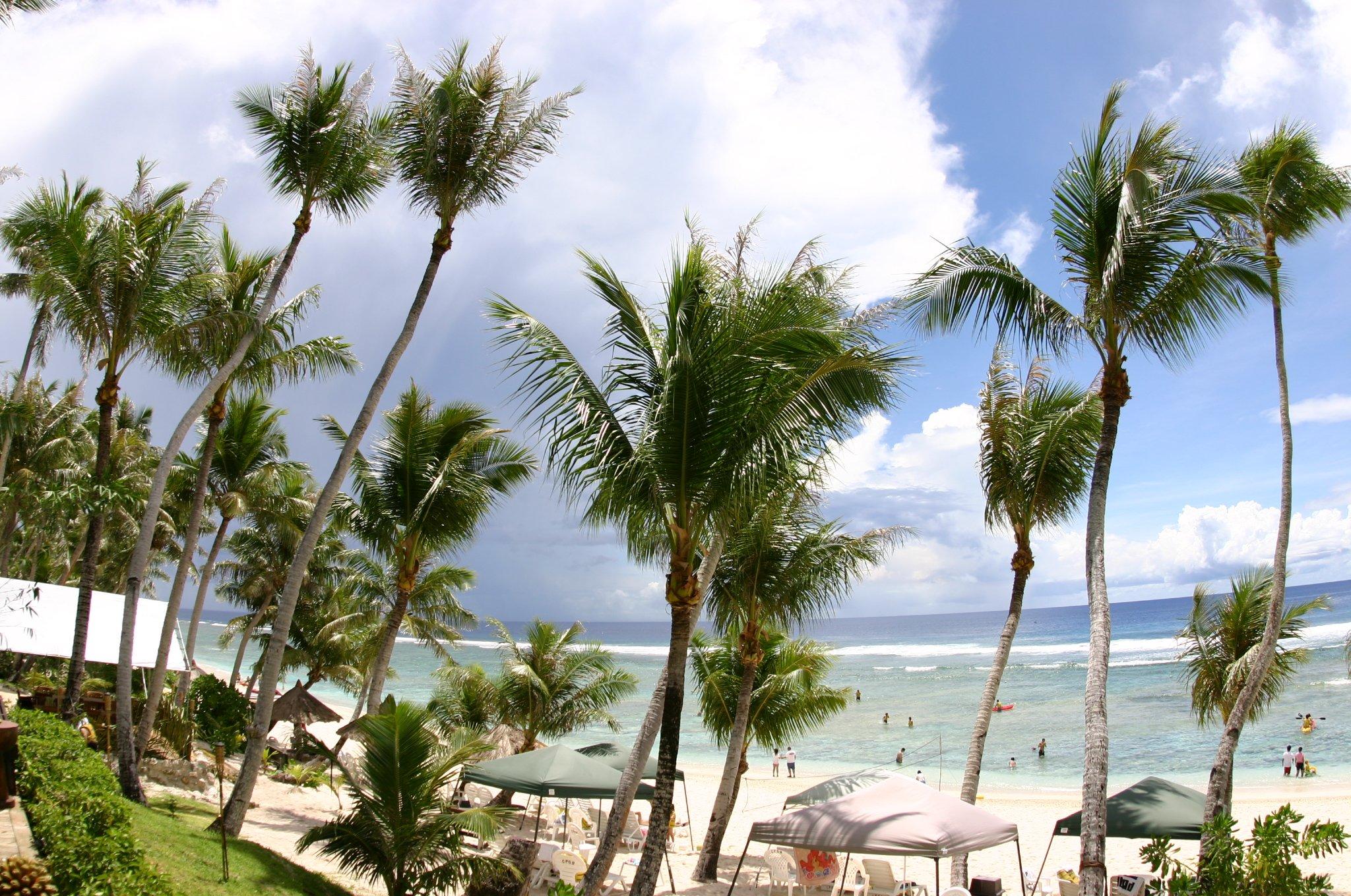 南の島のパラダイス「ココパームガーデンビーチ」