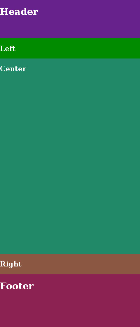 demo (3 column layout) - flexbox grid sample