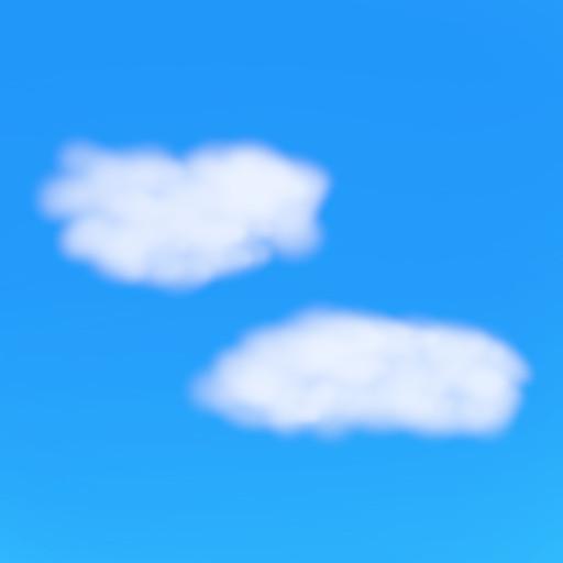 Gimpを使って簡単に雲の画像を作成 その3