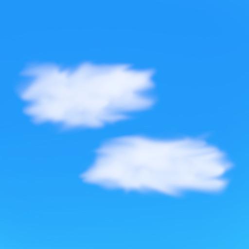 Gimpを使って簡単に雲の画像を作成 その4