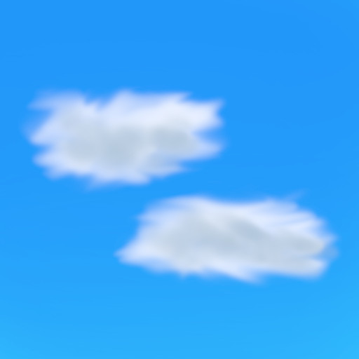Gimpを使って簡単に雲の画像を作成 その5